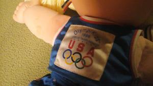 VINTAGE OLYMPICS CABBAGE PATCH MASCOT
