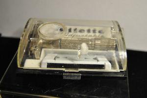 Vintage Gillette Adjustable Safety Razor 1-9 Fat Boy w/ Case