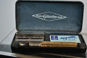 Vintage Gillette Safety Razor BOX MADE IN ENGLAND