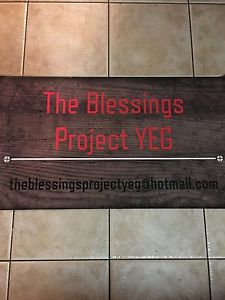 Wanted: The Blessings Project YEG is Seeking Donations