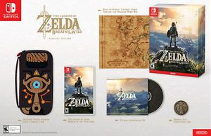 Zelda Breath of the Wild Special Edition Nintendo Switch