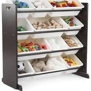 12 Bin Toy Organizer - NEW