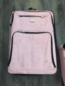 2 - Air Canada Pink Luggage - Suitcase and carry on