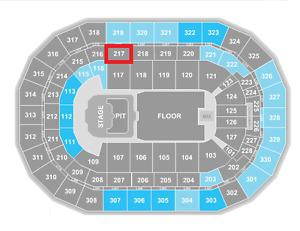 2 Eric Church Tickets for sale below face value - March 7 -