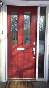"""36"""" x 80"""" exterior door with frame"""