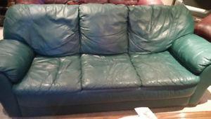 4 piece leather set