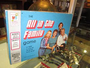 All In The Family Vintage Board Game For Sale