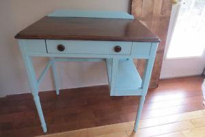 Antique small profile desk refinished