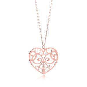 Authentic Tiffany & Co Enchant Heart Necklace