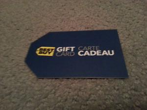 $ Best Buy Gift Card for $ Firm