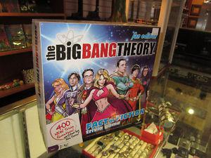 Big Bang Theory Fact or Fiction Trivia Board Game For Sale