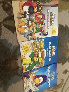 Club penguin book collection