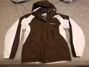 Columbia 2 in 1 womens winter jacket