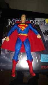 "Dc direct superman 13"" deluxe figure!"