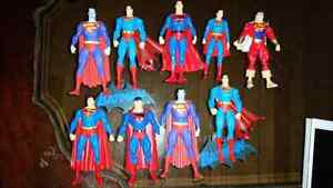 Dc direct superman figures!