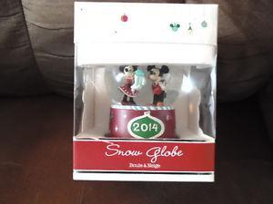 Disney Store Snow Globe