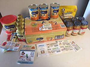Formula baby food and coupons
