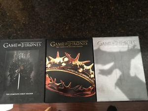 Game of thrones seasons 123