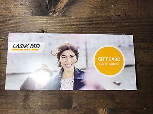 LASIK Gift Card