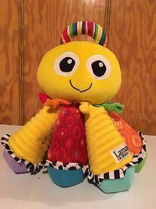 Lamaze octopus baby toy