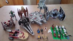 Lot of Lego Starwars 90$ or best offer