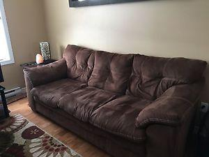 MICROFIBRE COUCH FOR SALE
