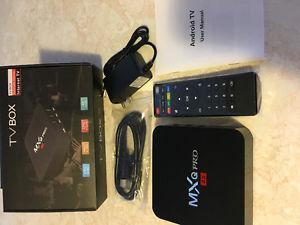 MQX PRO 4K android TV BOX NEW