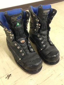 Men's Size 9 and 12 Steel Toe Boots