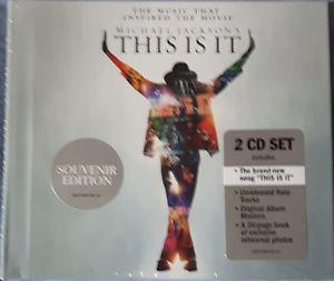 Michael Jackson - This Is It Souvenir Edition - Sealed 2 CD