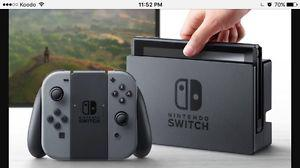 Nintendo Switch. Games and extras (w/receipt)