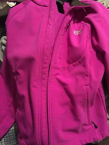 Pink north face jacket. Size medium. Women's