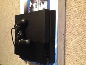 Ps4 with console for sale