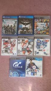 Ps4/ps3 games