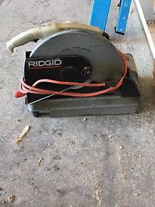 Ridgid chopsaw for sale