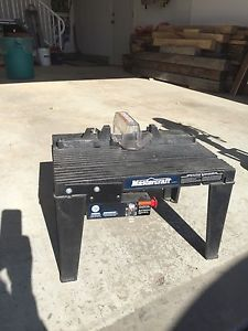 Mastercraft Router And Router Table Posot Class