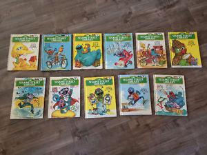 Seasame Street Hard Cover Book Collection
