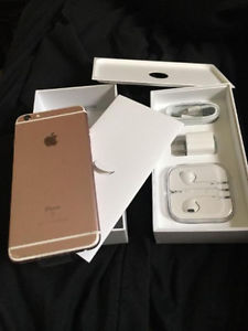Selling a brand new iphone 6S Plus 128 GB rose gold