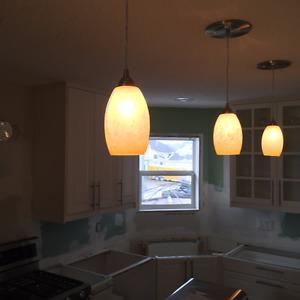 Set of 3 Island Pendant Lights