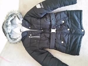 Sketchers girls size 7/8 winter coat