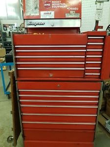 Snap on Tool Boxes and full of tools