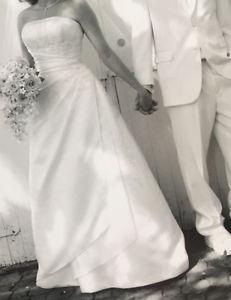 Stunning A line wedding dress