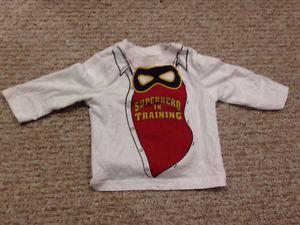 Superhero in training long sleeve shirt