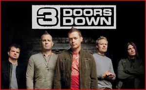 TWO TICKETS FOR 3 DOORS DOWN US AND THE NIGHT TOUR