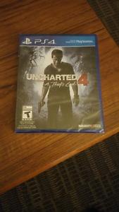 Unchartered 4 brand new unopened