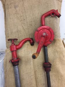 Vintage Petroleum Hand Pumps