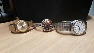 Vintage watches all working
