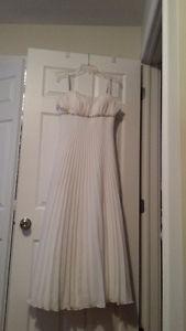White Grad Dress