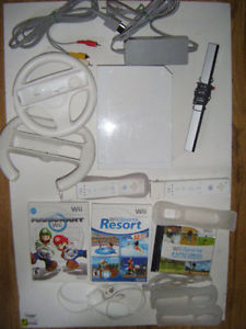 Wii System Plus Accessories For Sale in Truro.