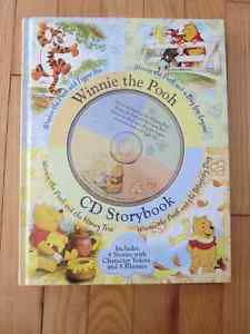 Winnie the Pooh CD story book excellent condition