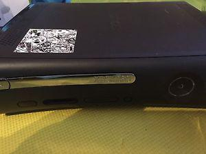 Xbox 360 with 2 wireless remotes and chargers